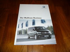 VW Multivan BUSINESS Prospekt 01/2006