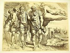 Odysée d'Ulysse Théodore Van Thulden 1633 le Primatice Odyssey of Ulysse Laërte