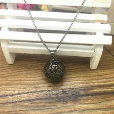 Hot Perfume Fragrance Essential Oil Aromatherapy Diffuser Locket Necklace DL15