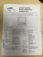 Samsung Service Manual for the CXB1312 CX TV VCR  mp