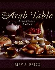The Arab Table: Recipes and Culinary Traditions-ExLibrary