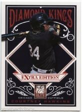 Lot of (24) Courtney Hawkins 2012 Panini Elite Diamond King RC Inserts - Chicago