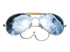 New Rothco 10301 Mirror Lenses Military Air Force Aviator Sunglasses