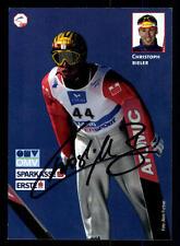 Christoph Bieler Autogrammkarte Original Signiert Skispringen + A 107497