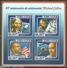 MOZAMBIQUE 85th BIRTH ANNIVERSARY OF MICHAEL COLLINS, US ASTRONAUT SHT  MINT  NH