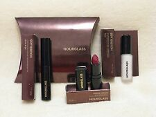 Hourglass Cosmetic Trio - Veil Primer, Film Noir Mascara & Femme Rouge Icon Lip