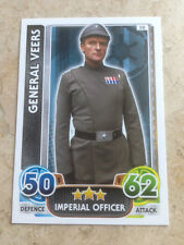 STAR WARS Force Awakens - Force Attax Trading Card #038 General Veers