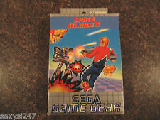 SPACE HARRIER SEGA GAME GEAR GAME BOXED COMPLETE 1991 RETRO CLASSIC