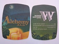 Cool Beer Coaster: WIDMER BROTHERS Brewing ~ Alchemy Hops Ale ~ Portland, OREGON