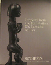 SOTHEBY'S Property from the Foundation Dr. Edmund Muller – tribal oceanic