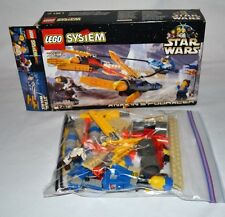 LEGO 7131 star wars ANAKIN'S POD RACER complete box INSTRUCTIONS minifigures