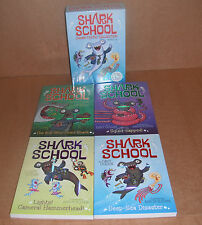 Shark School: Shark School Shark-Tastic Collection Bks. 1-4 by Davy Ocean  NEW