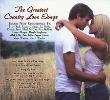 The Greatest Country Love songs 2007 Shanachie records compilation CD