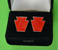 """28th Infantry Division- """"Keystone"""" Army National Guard 28th Cufflinks -Div ANG"""