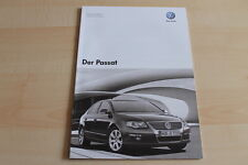 78662) VW Passat - technische Daten & Ausstattungen - Prospekt 10/2007