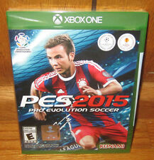 NEW FACTORY SEALED XB1 PRO EVOLUTION SOCCER 2015 MICROSOFT XBOX ONE FREE US S&H