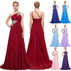 Long Chiffon Evening Gown Bridesmaid Dress Formal Prom Party Ball Gowns Wedding