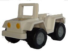 Lego Duplo Jeep Suv with Zoo imprint New Car