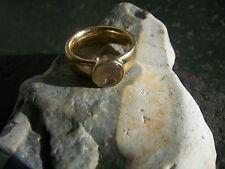 prachtvoller 585er Gold Ring mexikanischer Wasseropal Opal