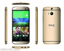 BRAND NEW U.S IMPORTED HTC ONE M8 Single SIM 16GB GOLD SMART PHONE GSM 3G 4G
