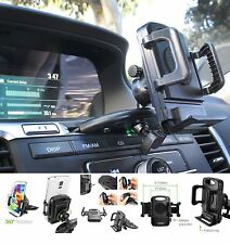 "Car CD Slot Mount Holder with 4"" open cradle for Apple iPhone 6 / 6 Plus"