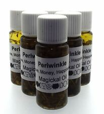 Periwinkle Herbal Infused Botanical Incense Oil Love Money Happiness