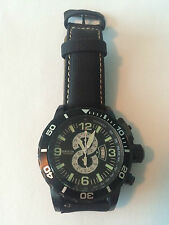 Invicta Men's 4906 Corduba Diver Chronograph Watch used gunmetal stainless steel