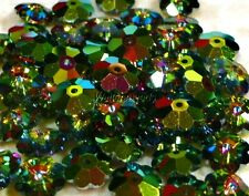 "Swarovski #3700 Margarita/Daisy 8 MM Flower Beads ""Vitrail Medium"" (12 Beads)"
