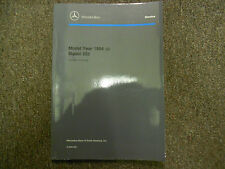 1994 MERCEDES BENZ Model 202 Introduction into Service Manual FACTORY OEM