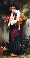 Old Masters A4 Reprint  (16) Little Thieves by William Bouguereau
