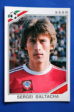 Panini WC MEXICO 86 STICKER N. 187 SSSR BALTACHA  WITH BACK VERY GOOD