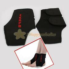 2x Magnetic Therapy Spontaneous Heating Pain Relief Ankle Brace Protection Belt