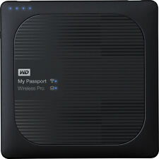 WD - My Passport Wireless Pro 3TB External USB 3.0 Portable Hard Drive - Bl