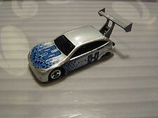 HOT WHEELS loose =  FORD FOCUS TUNER = SILVER  5sp