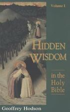 Hidden Wisdom in the Holy Bible, Vol. 1 (Theosophical Heritage Classics), Hodson
