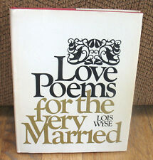 Garry Winogrand Love Poems For the Very Married FIRST PRINT 1st Book 1967 HC DJ