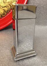 "Vintage Zippo Barcroft Plain One Step 4"" Table Lighter 50's Rare"