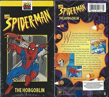 AMAZING SPIDERMAN THE HOBGOBLIN FOX KIDS VIDEO VHS RARE NEW 1994