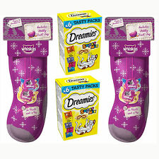 Whiskas Christmas Cat Stocking X 2 And Dreamies Supermix Pack X 2