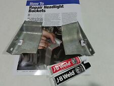 1964,1965,1966 Mustang HeadLight Bucket Repair Kit, Made in USA