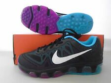 New Nike Womens Air Max Tailwind 7 Black White Blue Fuchsia Running Shoes sz 7.5