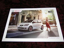 SEAT Mii FOLLETO 2016 - 01/2016 Fr-Line & Mango Inc Ltd. Edition
