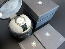 RARE!! TAG HEUER 6000 Professional WH1251 Quartz Watch 18K Gold & SS with Box