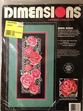Dimensions REGAL ROSES Cross Stitch Kit - Floral Roses