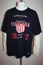 NEW-MENDED 2012 London Olympics Team USA YOUTH 10/12 Medium M Long Sleeve Shirt