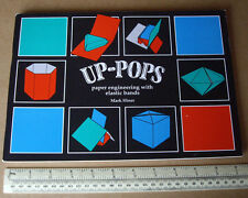 1996 Up-Pops. Paper Engineering with Elastic Bands. Mark Hiner. Tarquin Pubs UK