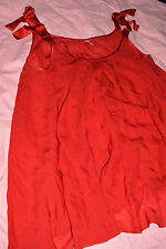 Agent Provocateur Red satin babydoll size 4