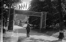 Vintage Photo-Negativ-Grenze-Heim ins Reich-Luxemburg-Wehrmacht-2.WK-3