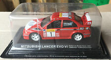 "DIE CAST "" MITSUBISHI LANCER EVO VI RMC 1999 MAKINEN "" RALLY DEA SCALA 1/43"