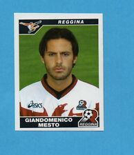 PANINI CALCIATORI 2004-05- Figurina n.376- MESTO - REGGINA -NEW